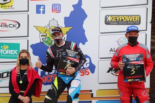Roberto Osenda sul più alto gradino del podio