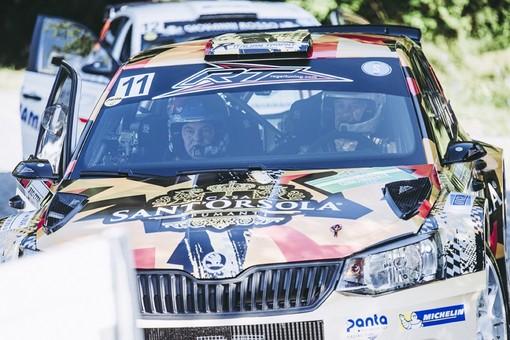 Uno scatto dal Rally di Alba 2020