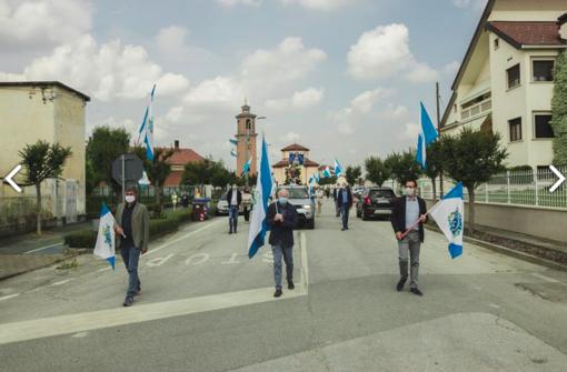 A Lagnasco un'insolita Festa Patronale di Santa Maria
