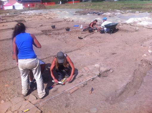 Gli scavi di Costigliole