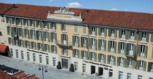 Sede centrale della CrSaluzzo gruppo Bper in corso Italia