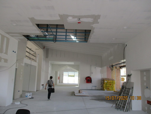 Cuneo: procedono i lavori per la nuova Scuola dell'Infanzia nel quartiere San Paolo