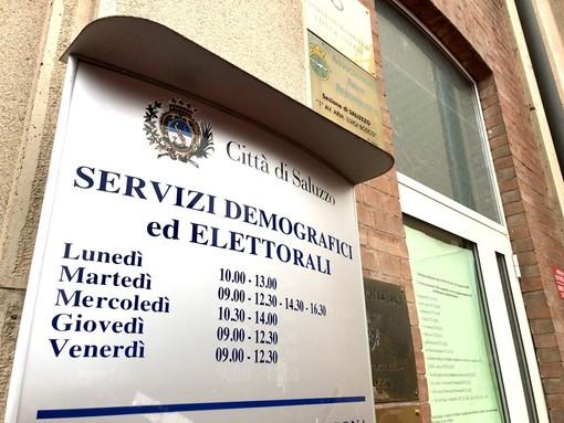 Saluzzo, l'ufficio Servizi elettorali a Palazzo Italia