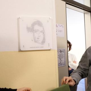 L'intitolazione del laboratorio a Gregory Guarnieri