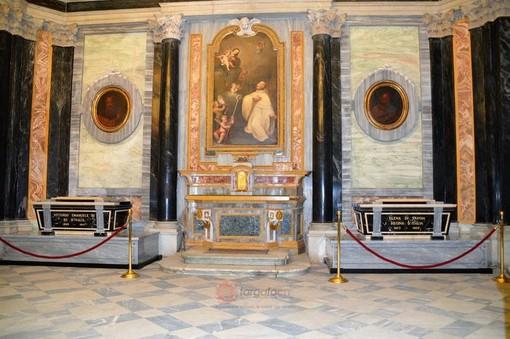 Le tombe dei Savoia all'interno del Santuario di Vicoforte