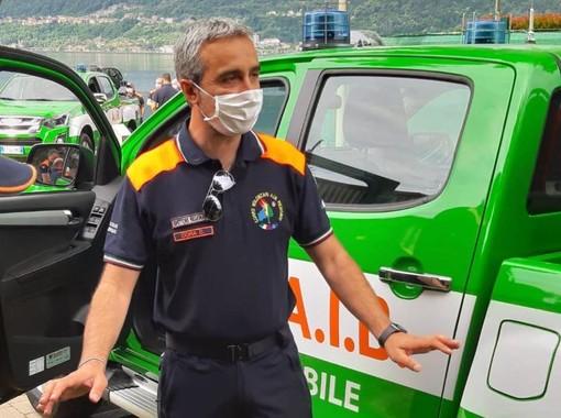 Daniele Cora, neo ispettore generale del Corpo AIB Piemonte