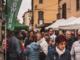 In foto il mercato di via Roma prima dell'emergenza sanitaria
