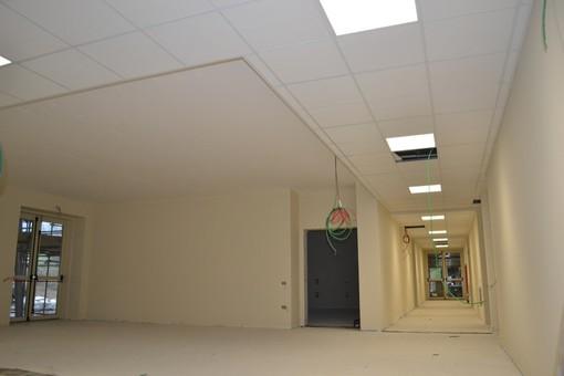 I locali interni dell'istituto in una foto del dicembre scorso