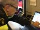 In foto Valter Giulianio, responsabile TAS (topografia applicata al soccorso) dei vigili del fuoco di Cuneo
