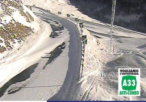 Troppa neve, Anas chiude il colle della Maddalena tra Argentera e il Confine di Stato