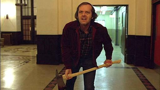 Jack Nicholson nei panni di Jack Torrance