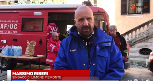 """Positivo al Covid-19 il sindaco di Limone Piemonte: """"Ho pochi sintomi, sto abbastanza bene"""""""