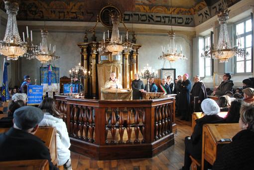 Saluzzo, la Sinagoga