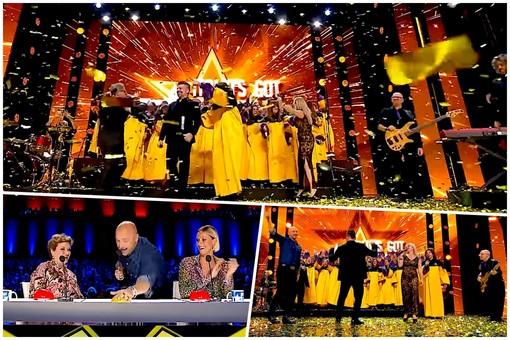"""Il """"Sunshine Gospel Choir"""" sul palco di """"Italia's got talent"""""""