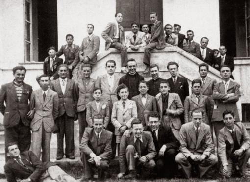 Maggio 1944. Una giornata alla Casa Esercizi Spirituali di Altavilla con padre Navone