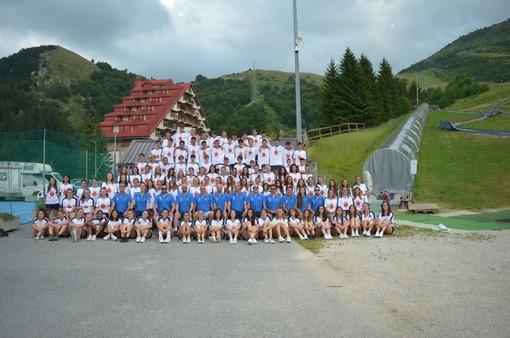 I partecipanti alla 13^ edizione dello Smile Volley Camp