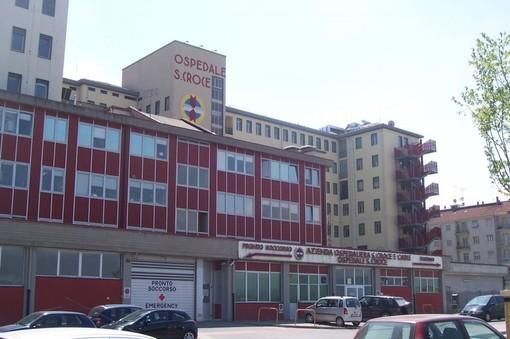L'ingresso al Pronto Soccorso dell'Ospedale Santa Croce di Cuneo