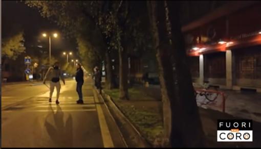 Un frame del video postato da Matteo Salvini