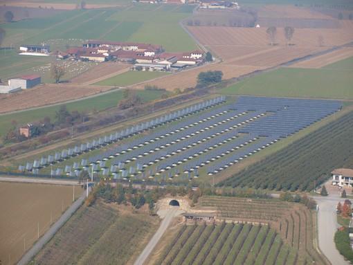 """Inaugurato a Saluzzo l'impianto fotovoltaico """"Lago Solare"""""""