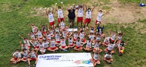 Concluso il primo Summer Camp di CuneoSki2000: 160 i bambini partecipanti