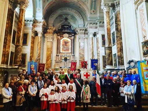 San Michele Mondovì: profonda commozione per l'ultima messa di don Giuseppe Viglione (FOTO)