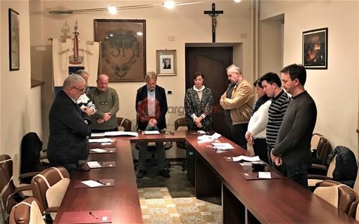 Il minuto di raccoglimento osservato dal Consiglio comunale di Sanfront