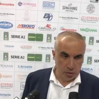 Il tecnico della BAM Acqua San Bernardo Cuneo Roberto Serniotti