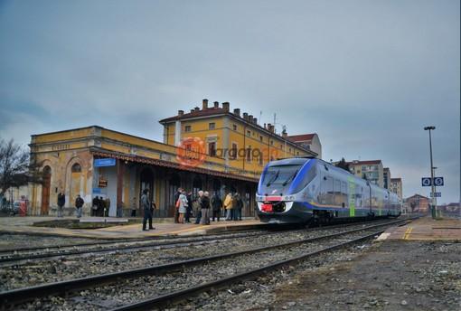 La stazione di Saluzzo
