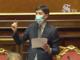 L'intervento del ministro Speranza pochi minuti fa a Palazzo Madama