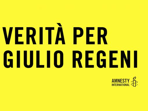 Mondovì: lo striscione per Giulio Regeni sarà finanziato dai consiglieri comunali