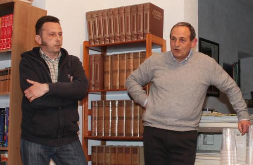 Edoardo Bresciano e Annibale Torelli (Foto di Sergio Rizzo)