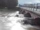 Interventi di pulizia del torrente Maira sotto il ponte tra Cavallermaggiore e Monasterolo di Savigliano