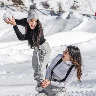 Shaila Gatta e Mary Falconieri a Prato Nevoso
