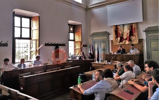 L'incontro di stamane, in Municipio a Saluzzo