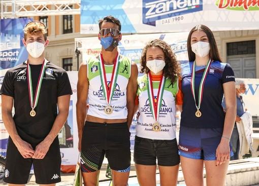 Skiroll - A Rieti assegnati i titoli italiani mass start: vittorie per Elisa Sordello ed Emanuele Becchis