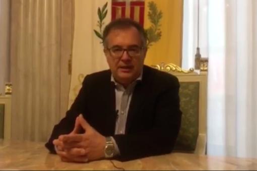 Il sindaco di Busca Marco Gallo