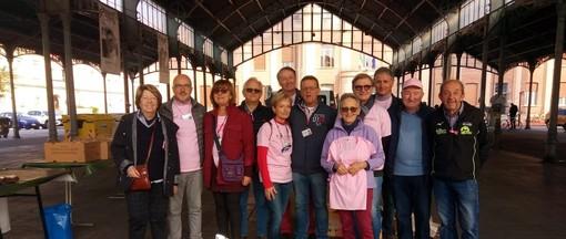 Saluzzo, i volontari Lilt della 4° Camminata rosa