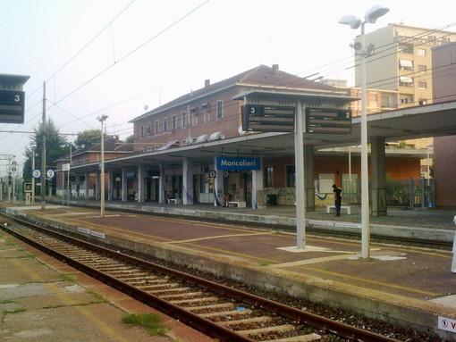 La stazione di Moncalieri
