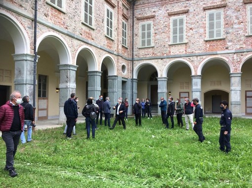 Concerto di Ferragosto: sopralluogo RAI al Castello di Casotto