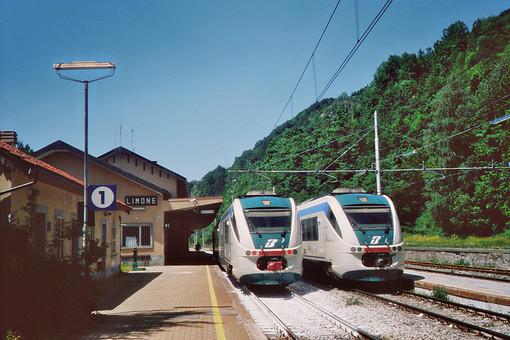 La stazione di Limone Piemonte
