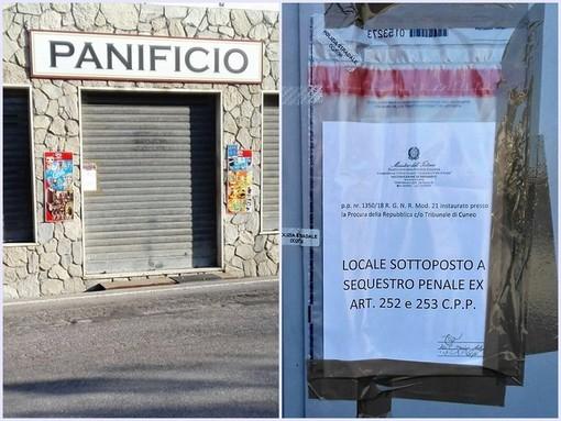 San Michele Mondovì: panetteria sotto sequestro dopo la morte del titolare