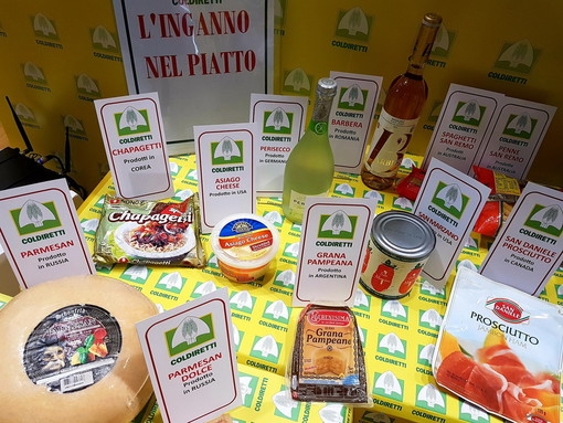 Falsi made in Italy nel settore dell'agroalimentare: con l'emergenza Covid il danno sfiora i 100miliardi di euro