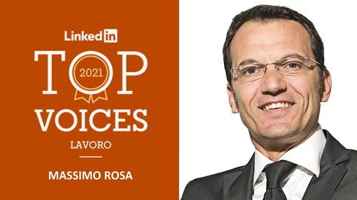 Un saluzzese fra gli influencer più seguiti di LinkedIn: Massimo Rosa Top Voice Lavoro 2021