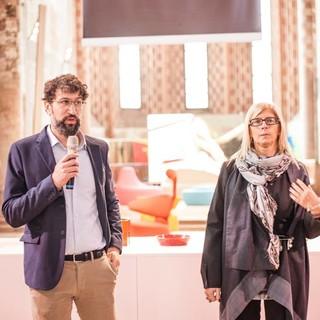 Fabio Tripaldi e Liliana Allena, in una foto d'archivio
