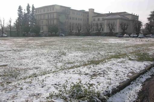 Una parte dell'area attorno all'Ospedale Carle di Confreria