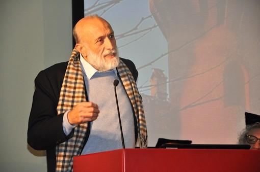 L'intervento con cui il presidente onorario Carlin Petrin ha chiuso la cerimonia a Pollenzo