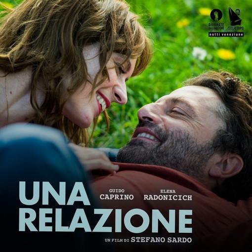 """La locandina del film """"Una relazione"""", diretto da Stefano Sardo"""