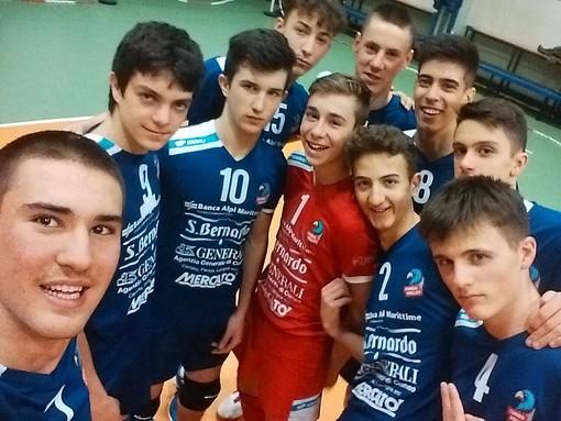 Volley maschile: l'U16 Bam Mercatò Cuneo Rossa riparte con una vittoria