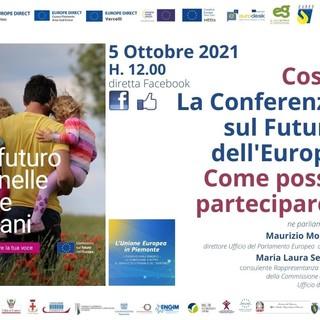 La conferenza sul futuro dell'Europa in diretta Facebook: cos'è e come posso partecipare