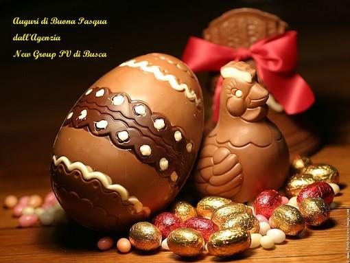 Gli Auguri di Buona Pasqua dallo staff della New Group PV di Busca
